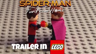 Spider Man Far From Home Trailer in LEGO