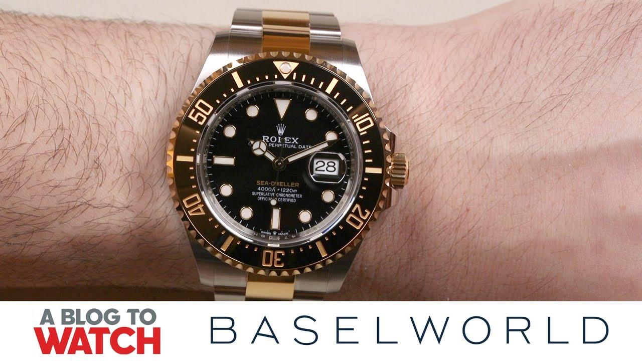 33dd507322c Rolex Sea-Dweller 126603 Rolesor Watch Hands-On | aBlogtoWatch