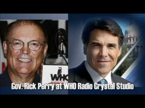 Rick Perry at the Iowa State Fair (audio-only)