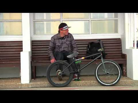 At Home With Amos Burke BMX