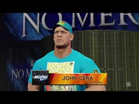 WWE No Mercy: AJ Styles vs. John Cena vs. Dean Ambrose WWE 2K16