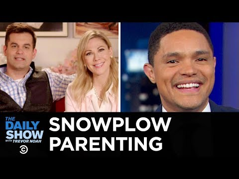 The Rise of Snowplow Parenting | The Daily Show