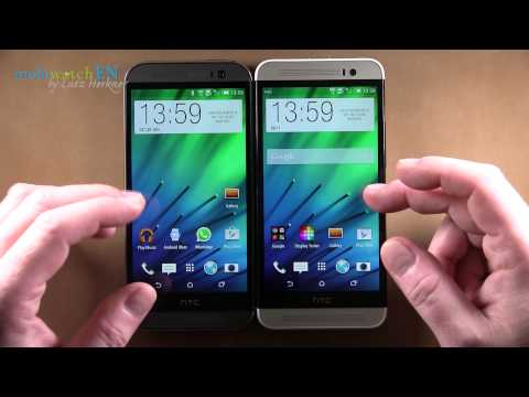HTC One E8 Dual SIM Unboxing & Hands-on review  - YouTube