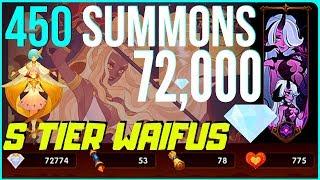 💎72,000 Diamonds 450 SUMMONS Antandra! S-Tier Ladies Summoned | AFK ARENA