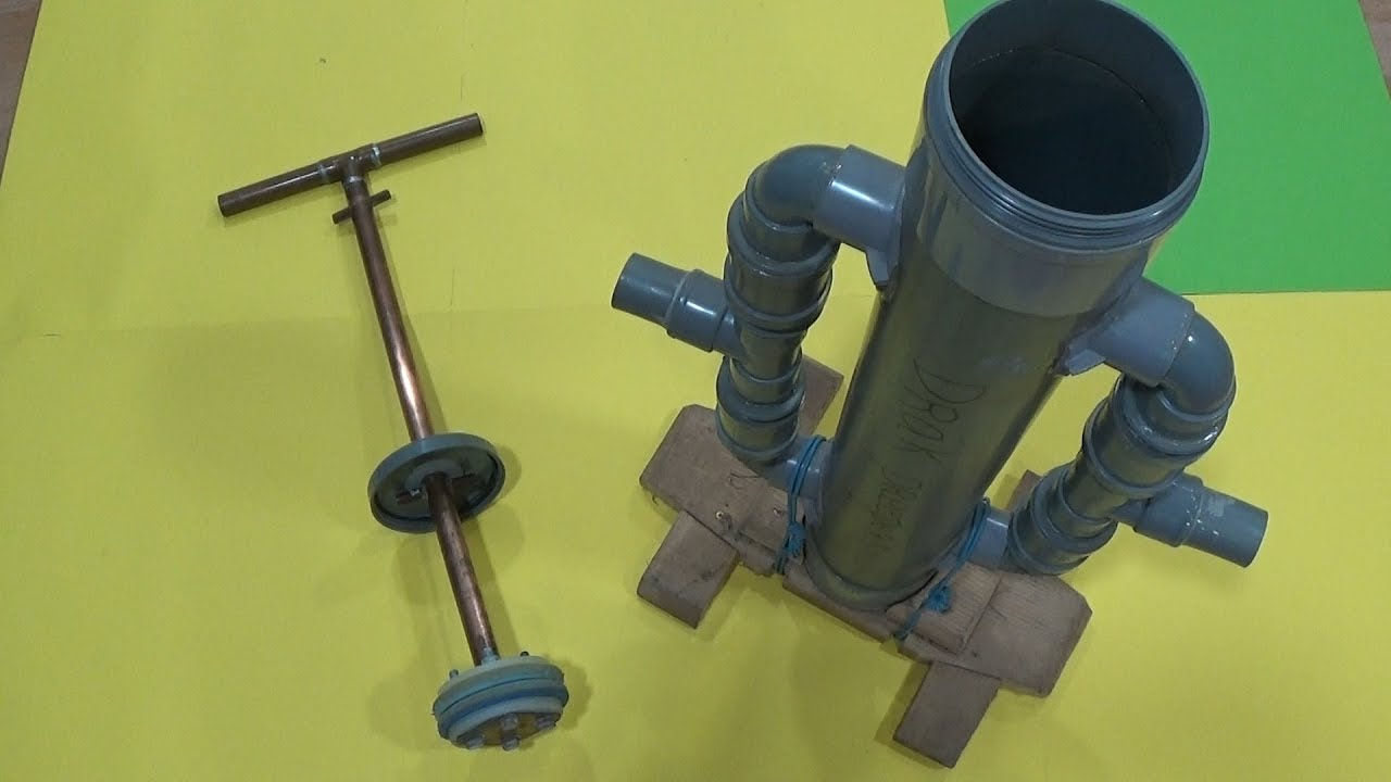 Bomba de agua manual 3 4 paso a paso youtube for Bomba de agua manual