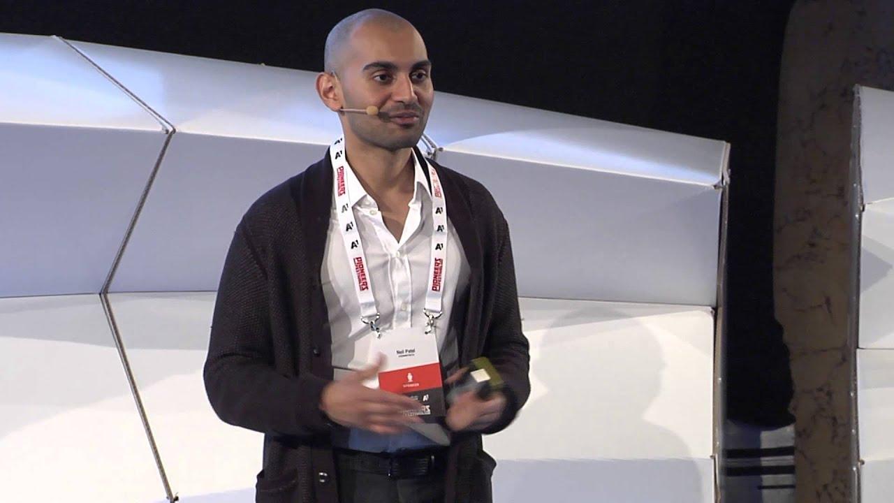 Growth Hacking - Neil Patel - Pioneers Festival 2014