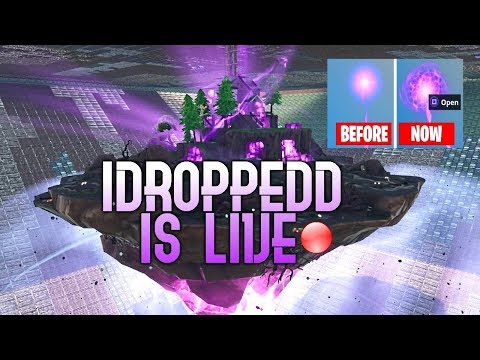 FORTNITE- 24/7 LIVE FLOATING ISLAND CUBE EVENT -  THE SKY PORTAL IS OPENING & EXPANDING !