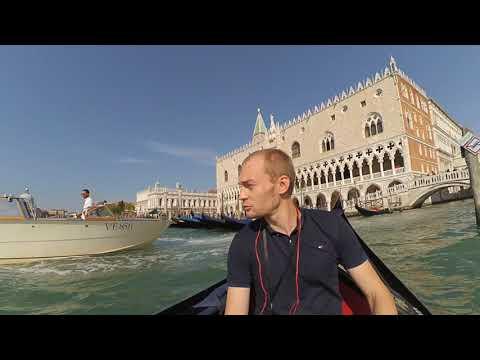 Прекрасная Венеция. Прогулка на гондоле.