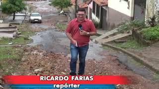 PEDREIRAS: Moradores da rua Don Pedro II reclamam da falta de infraestrutura.