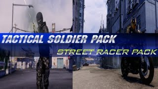 Sleeping Dogs: Tactical Soldier Pack + Street Racer Pack DLC (HD)
