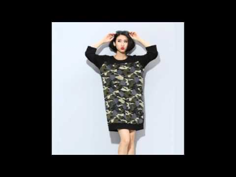 Womens Camouflage Sweatshirt For Winter