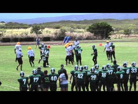 Molokai Football Highlights 2013