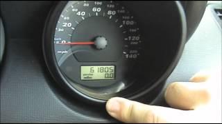 Service light Reset VW Skoda Seat