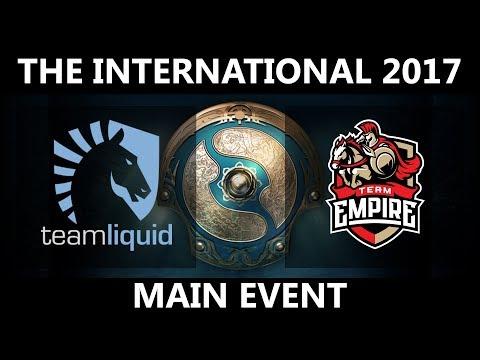 Team Liquid vs Empire GAME 2, The International 2017, Empire vs Team Liquid