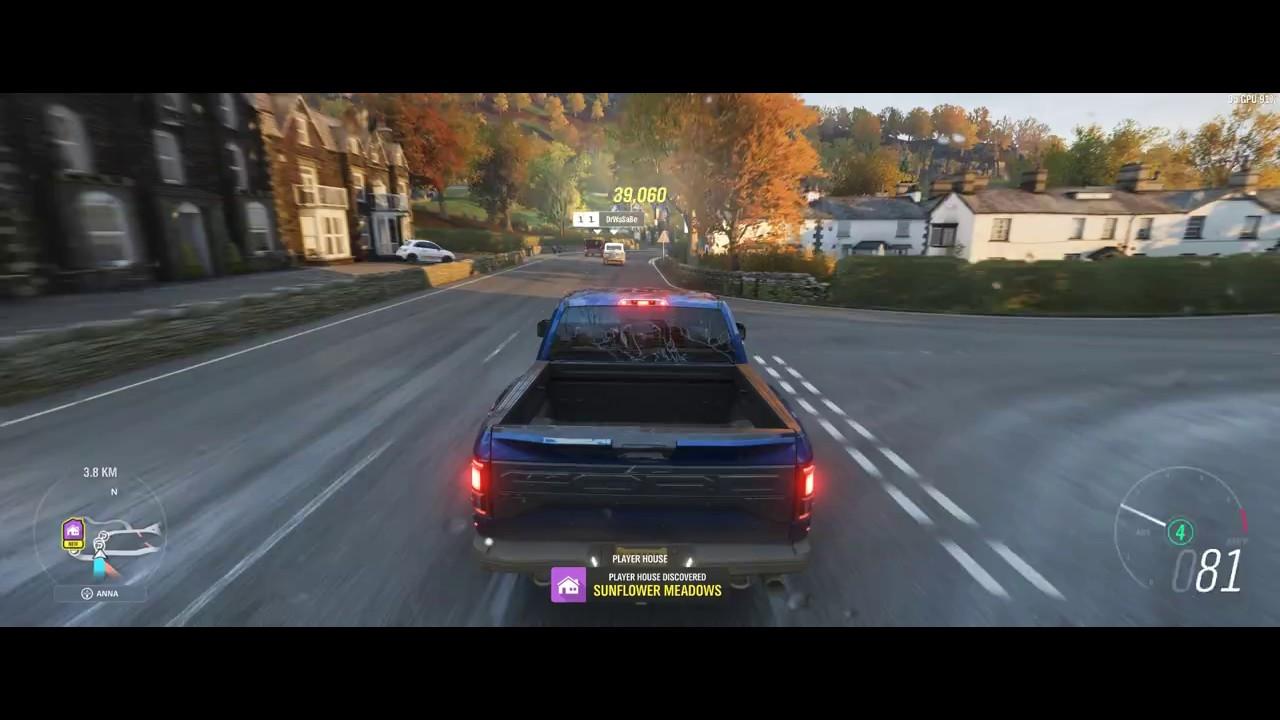Forza Horizon 4 3440x1440 (Hades Canyon + eGPU ) by Hussain Jassim