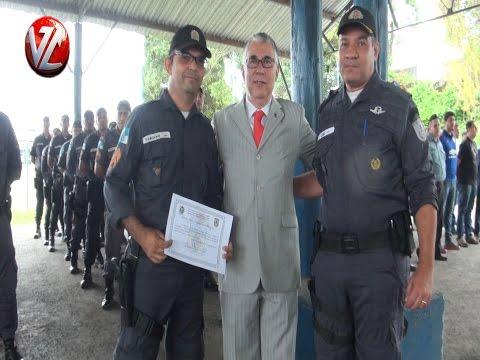 Cerimônia homenageia destaques da PM em Volta Redonda