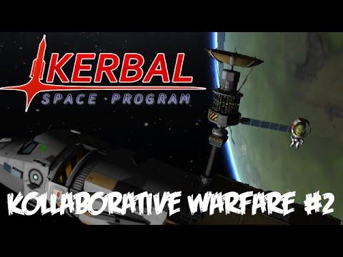 KSP Kollaborative Warfare #2 : Stealing a Spy Satellite