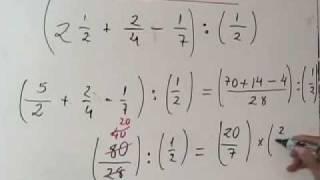Fracciones II 2º,3º de secundaria PARTE 1 DE 2