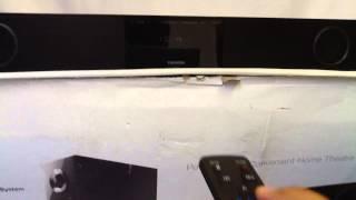 Toshiba SBX4250KB soundbar system