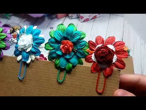 Project Share | Paperclip Embellishments