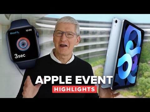 Apple's entire Watch SE, Series 6, iPad Air presentation in 12 minutes (supercut)