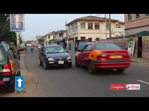 See how Drivers in Accra abuse One Way traffic