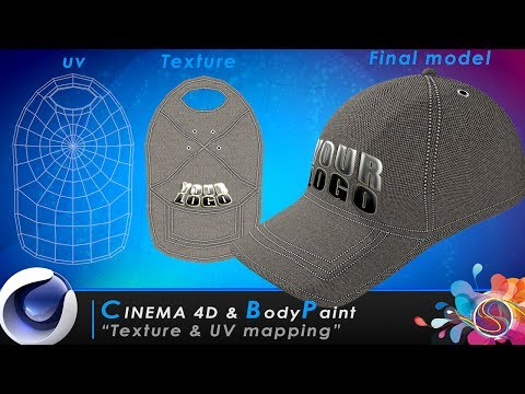 TUTORIAL Cinema 4D & BodyPaint - Texture & UV Mapping