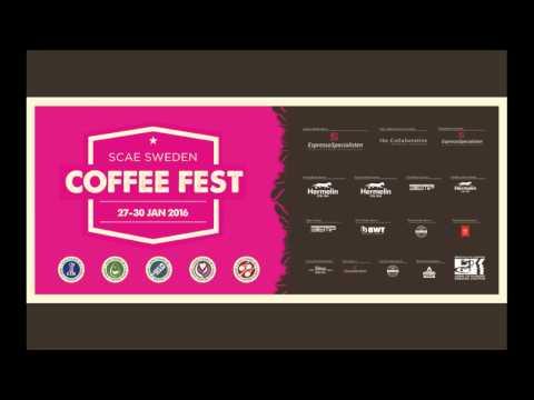 SCAE Sweden Coffee Fest #sscf2016