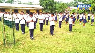 Morning Assembly - Mudaibari ME School