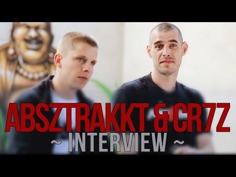 Absztrakkt & CR7Z über gemeinsames Album, Drogenkonsum, Techno, Liebe und Geld - Interview