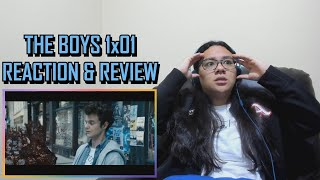 """The Boys 1x01 REACTION & REVIEW """"The Name of the Game"""" S01E01 