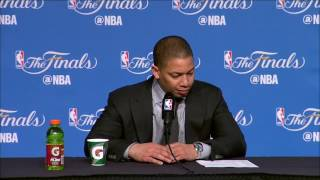 Tyronn Lue Postgame News Conference | Warriors vs Cavs Finals Game 4 | June 9, 2017