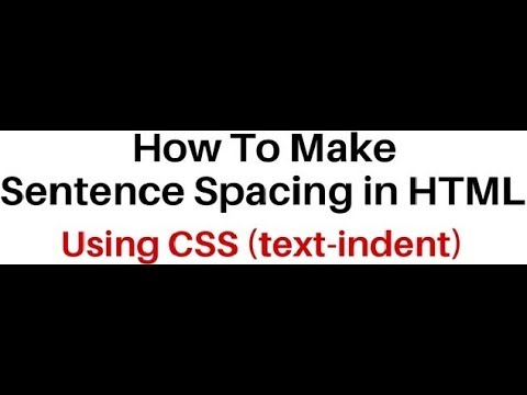 Text-indent Property Spacing Paragraph With First Letter In HTML