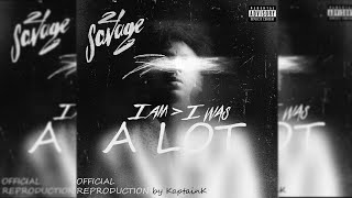 21 Savage - A Lot Instrumental ft. J. Cole (Best Version)
