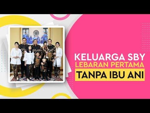 Ketegaran Keluarga SBY Lebaran Pertama Tanpa Ibu Ani