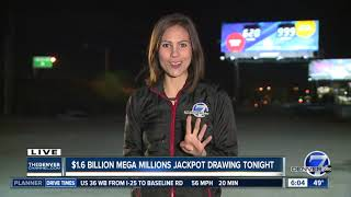 $1.6 billion Mega Millions jackpot drawing is tonight