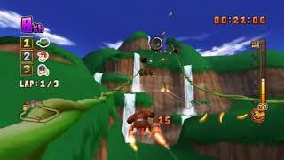 Donkey Kong   Barrel Blast  NINTENDO WII HYPERSPIN NOT MINE VIDEOSUSA