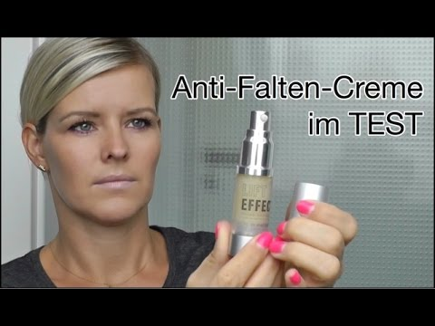 Anitfaltencreme Test Lifteffect Anti Aging Creme Youtube