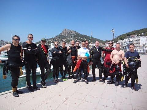 Séjour du Sub Atlantic Club à l'Estartit en Espagne