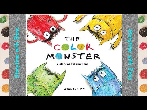 The Color Monster, A Story About Emotions by Anna Llenas | Children's Books | Storytime with Elena