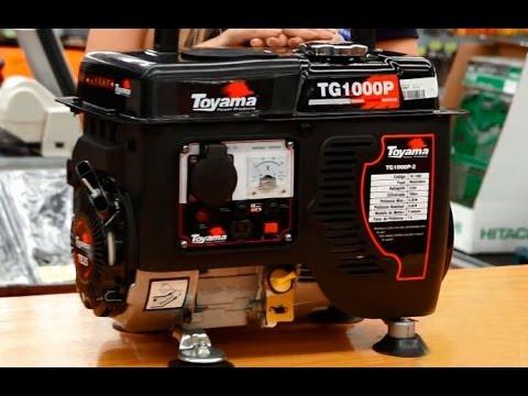 Toyama - Gerador à Gasolina TG1000P