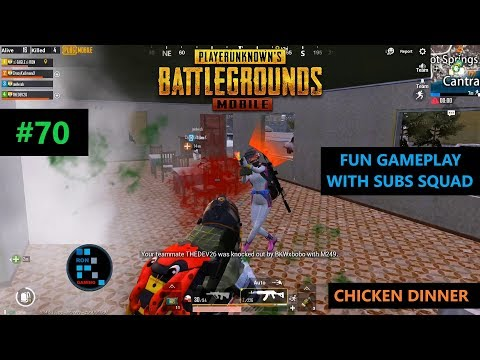 [Hindi] PUBG MOBILE | INTENSE MATCH WITH SUBS SQUAD IN VIKENDI MAP
