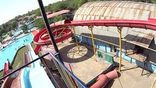 Red Anaconda Water Slide at Splash The Sun City
