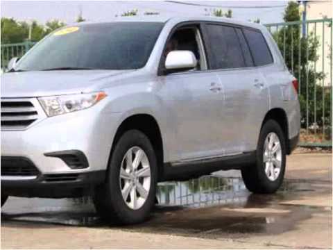 2012 Toyota Highlander Used Cars Fort Smith AR