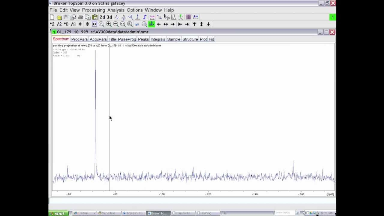 NMR - Removing t1 Noise from Heteronuclear 2D NMR Data