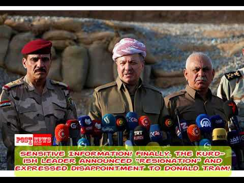 Sensitive Information! Finally, the Kurdish leader announced