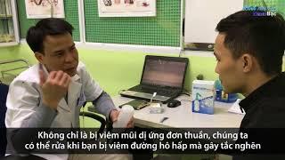 BS CKII hướng dẫn xử lý bệnh viêm xoang, viêm mũi