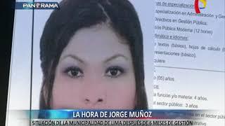 El medio año de Jorge Muñoz: esta es la situación de su gestión