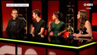 sdcc the flash cast talk to ign about season 2