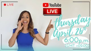 MY VERY FIRST YOUTUBE LIVE STREAMING VIDEO! 🎥 👩🏽💻 🎬